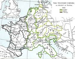 Roman Map Maps Holy Roman Empire