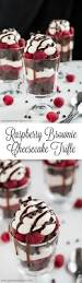 Dark Chocolate Raspberry Brownies by Raspberry Cheesecake Trifles Recipe Raspberry Brownies