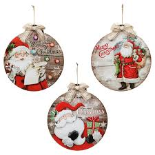 hanging baubles 12pc decorations b m