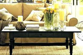 pottery barn griffin round coffee table pottery barn griffin table adorable amazing griffin reclaimed wood