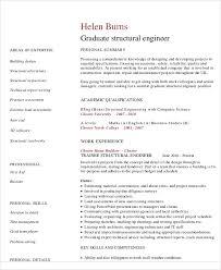 residential structural engineer sample resume 10 civil engineer cv