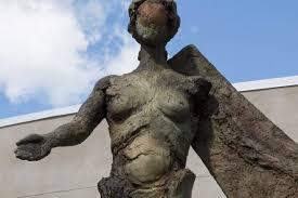 Angel Sculptures Figurative Angel Sculptures U201cagora U0027s Light U201d Revealed The
