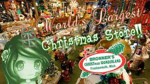 world u0027s largest christmas store frankenmuth michigan