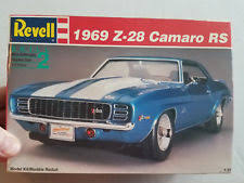 1969 z 28 camaro revell model 1969 z 28 camaro rs kit 7457 1990 ebay