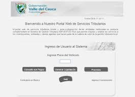 impuestos vehiculos valle 2016 herramienta para liquidar el impuesto de vehiculo 2016 en cali valle