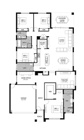 Inexpensive Floor Plans by Best 25 Single Storey House Plans Ideas On Pinterest Sims 4