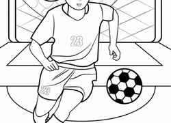 soccer coloring pages u0026 printables education