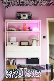 it office design ideas office makeover reveal lavender black and brass vibes u2014
