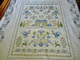 country log cabin finished quilting mama u0027s quilt top