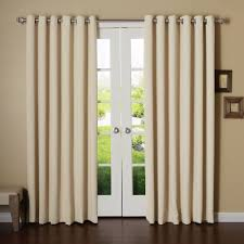decor dark grommet curtains with dark extra long curtain rods and