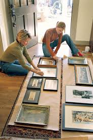 How To Hang Art Prints How To Hang A Collection Of Artwork Southern Living