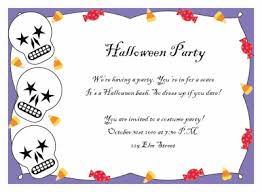 halloween birthday party invitations template best template