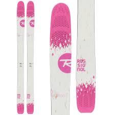 rossignol saffron 7 skis women u0027s 2016 evo