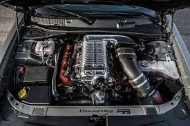 Dodge Challenger Upgrades - 2015 2018 dodge charger hellcat hpe1000 supercharged engine
