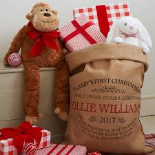 personalised baby s sack by harrow green