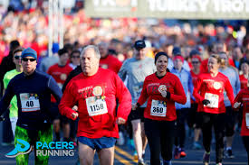 thanksgiving day race 2014 fairfax turkey trot pacers running