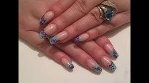 uv gel nails using missubeautynetwork com gel mint green french