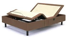 buy refurbished simmons beautyrest nuflex brown adjustable bed