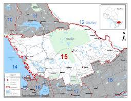 Wmu Map Fisheries Management Zone 15 Fmz 15 Ontario Ca