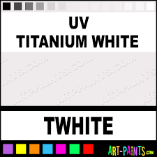uv titanium white blacklight tattoo ink paints twhite uv