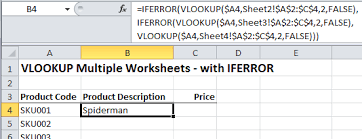 excel vlookup multiple sheets u2022 my online training hub