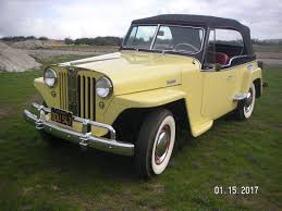 old yellow jeep willys jeepster for sale hemmings motor news
