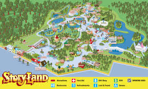 Map Of Plantation Florida by Park Map Story Land