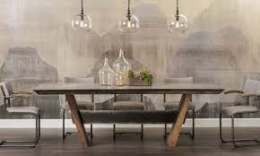Andreas Dining Room Long Valley by Bonham Dining Table Four Hands Loft Dining Inspiration