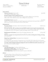 resume for students sample resume sample for high students