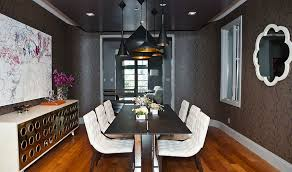 black dining room how to use black to create a stunning refined dining room