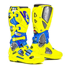 661 motocross boots sidi crossfire 3 srs motocross mx boots cairoli yellow flou