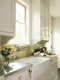 wall mount faucets kitchen white kitchen cabinets with stainless steel countertops