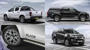 2015 isuzu d max blade is the new flagship of the range