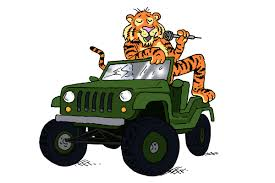 jeep cartoon offroad feedback what links jeeps emcees and the tiger in your tank