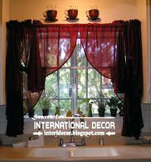 Sunflower Kitchen Curtains Retro Kitchen Curtains And Valances Ideas Mellanie Design
