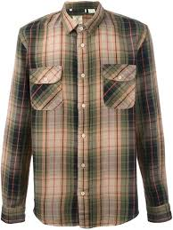 Vintage Mens Clothing Online Levis 541 Brown Cotton Plaid Shirt From Levi U0027s Vintage Clothing