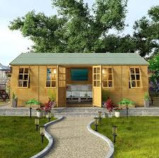 Summer House In Garden - wooden summer house who has the best