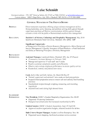 hospitality objective resume samples sample resume for ojt in culinary frizzigame resume sample for ojt chef frizzigame