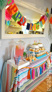 Decoration Ideas For Birthday Party At Home Best 25 Kids Birthday Decorations Ideas On Pinterest Birthday