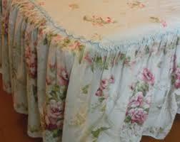 Antique Rose Comforter Set Vintage Bedding Etsy