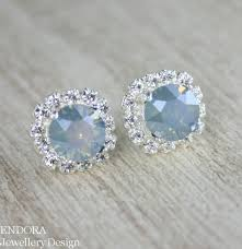 something blue ideas blue bridal earrings something blue dusty blue earrings dusty blue