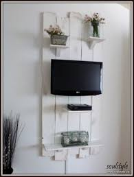 Interior Design Ideas For Tv Wall by Best 25 Tv Wall Shelves Ideas On Pinterest Floating Tv Stand