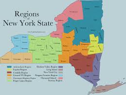 Map Of New York State by Facts About New York State