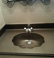 Rustoleum Bathtub Refinishing Paint Spray Painted Bathroom Counter Stone House And Bath
