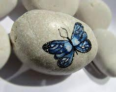 Butterfly Desk Accessories Painted Rocks Desk Accessories Set Paperweight Birthday Present