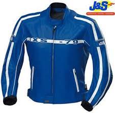 blue motorcycle jacket ixs cornwall leather motorcycle jacket motorbike retro blue ce