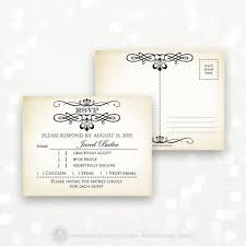 rsvp postcard template free 28 images free wedding templates
