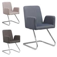 Esszimmerstuhl Mit Armlehne Grau Lounge Stuhl Freischwinger Beatrice Mit Armlehnen Küchenstuhl