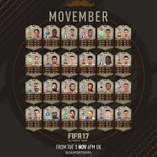How To Make Your Own Ultimate Team Card - fifa 17 movember cards guide and promotion fifa 17 movember squad