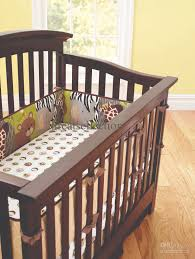 new embroidered 3d animals brown color boy baby cot crib bedding